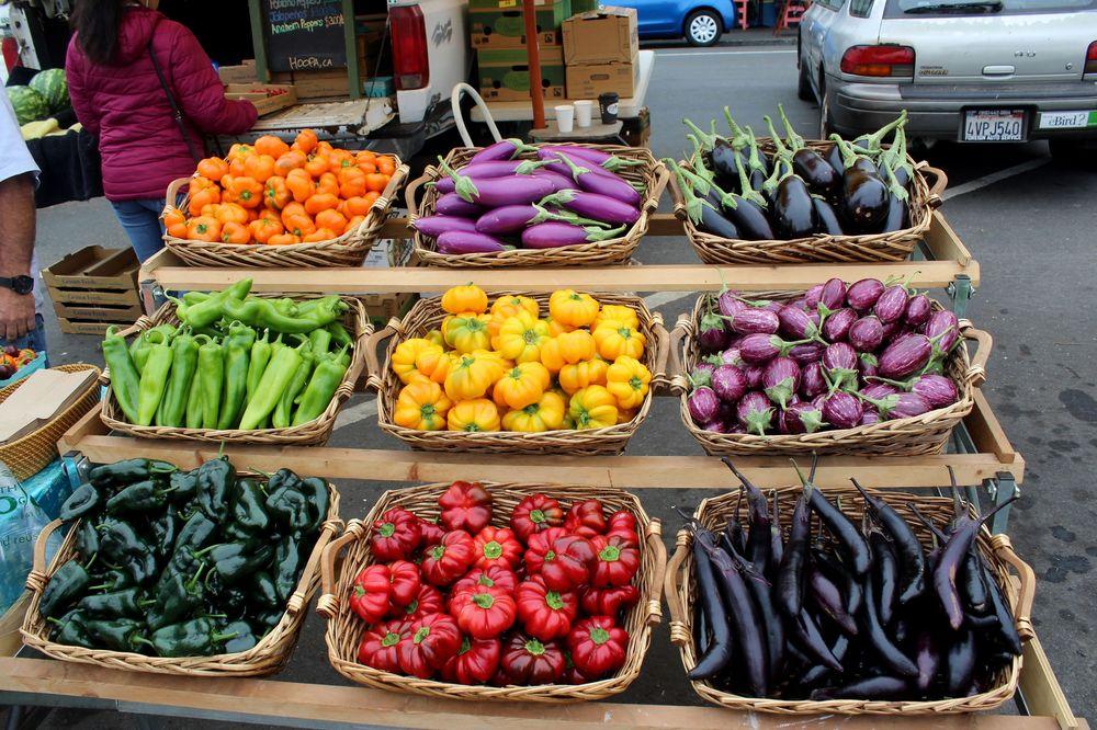 Farmer's Market, Arcata, CA, USA