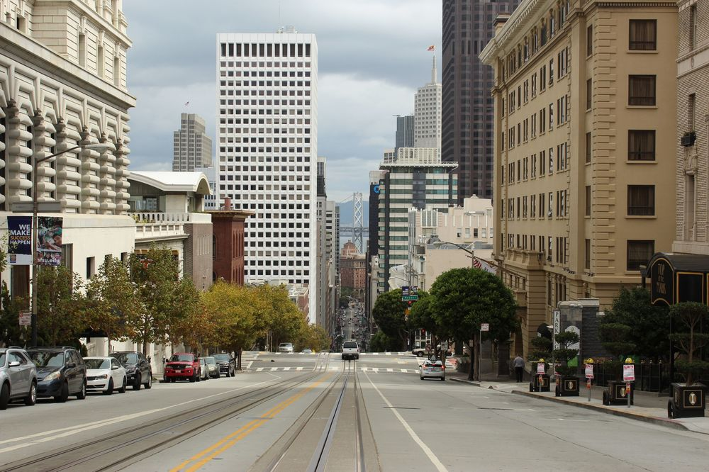 Quartier de Nob Hill, San Francisco, CA, USA
