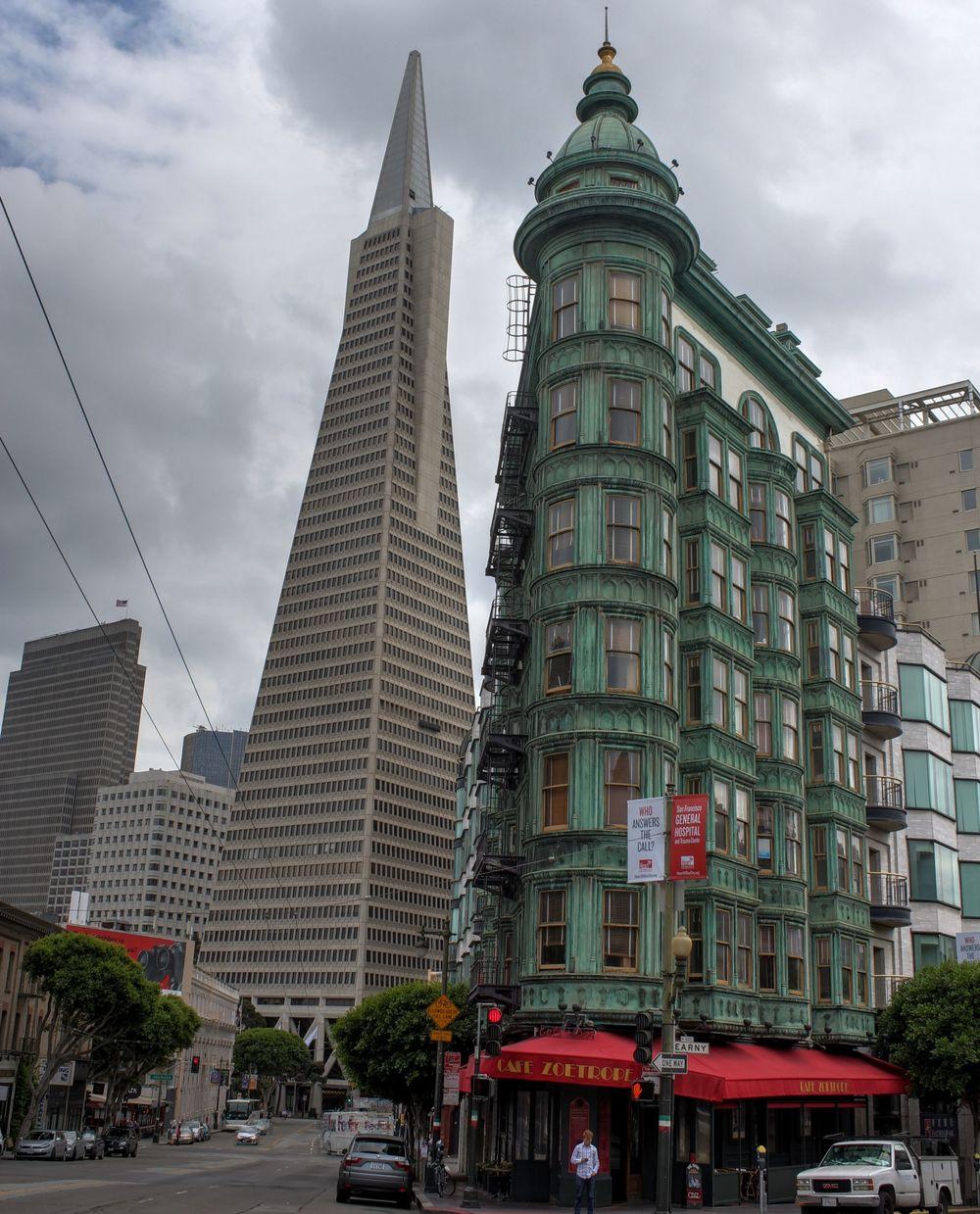 Transamerica Pyramid, San Francisco, CA, USA