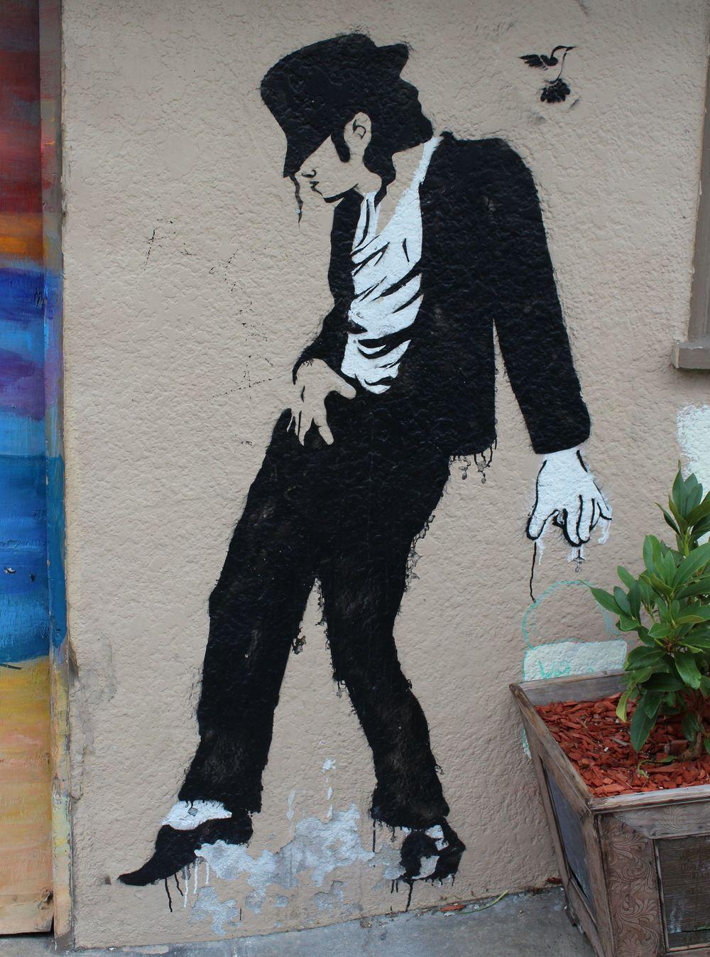 Fresque, quartier de Castro, San Francisco, CA, USA