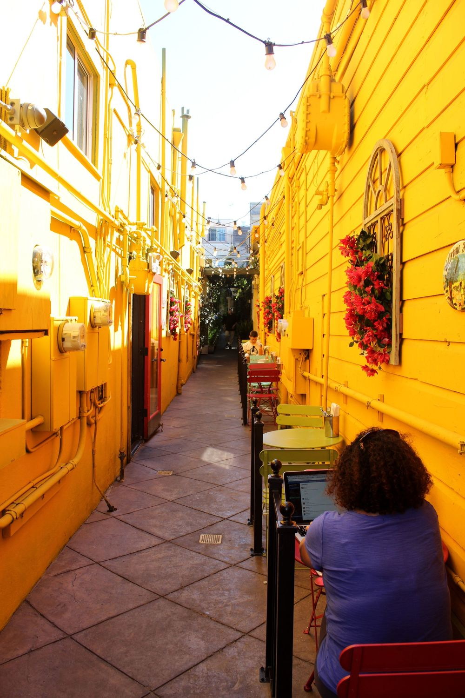 Rue de Pacific Heights, San Francisco, CA, USA