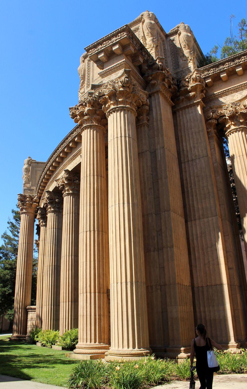 Palace of Fine Arts, San Francisco, CA, USA