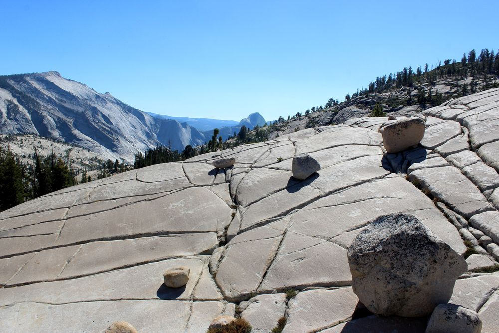 Olmsted Point, Yosemite National Park, CA, USA
