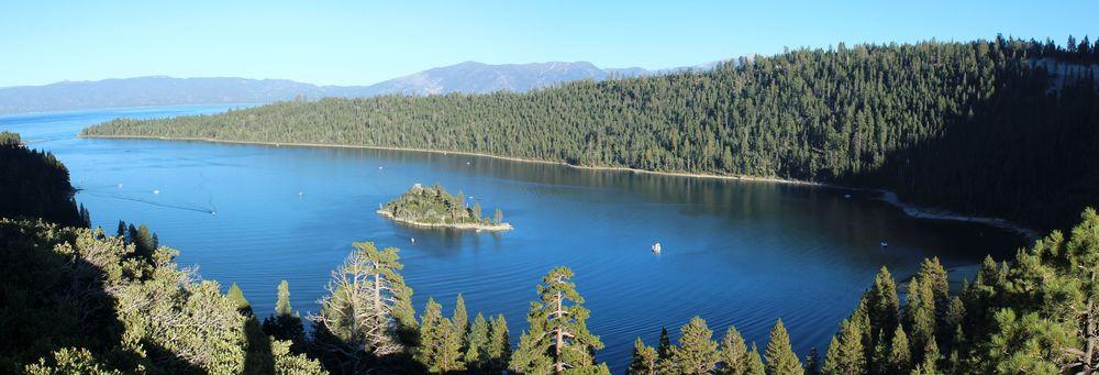 Au sommet de Eagle Rock, Lac Tahoe, CA, USA