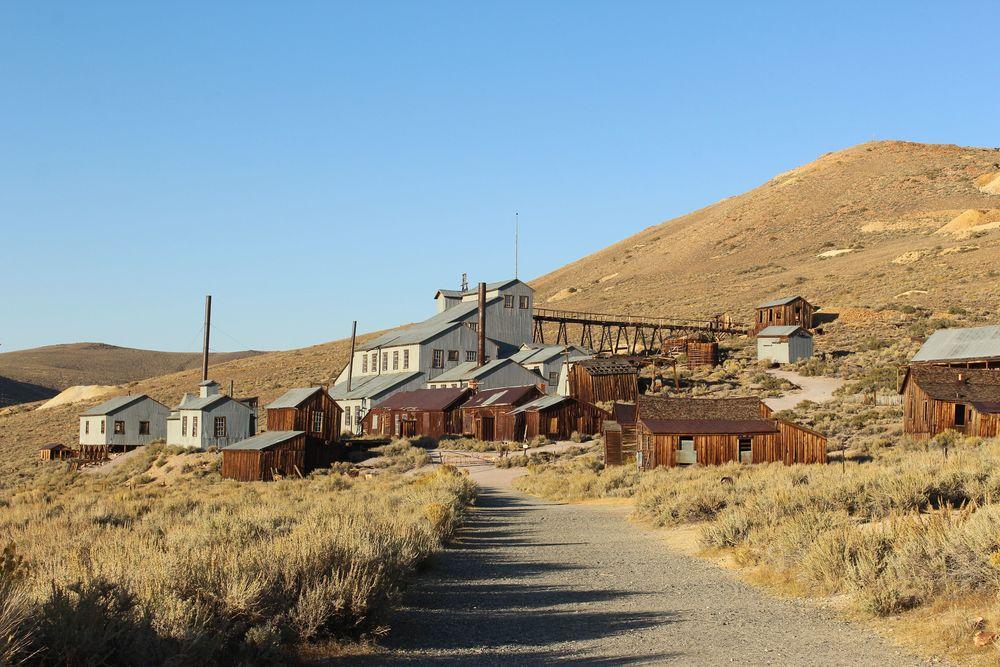Mine d'or, Bodie, CA, USA