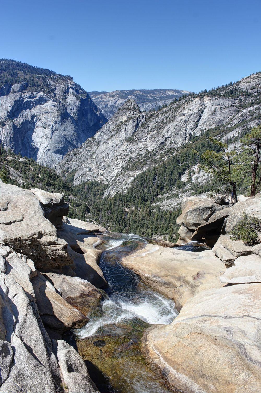 Nevada Fall, Yosemite National Park, CA, USA