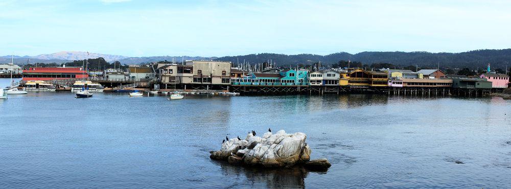 Le Fisherman's Wharf, Monterey, CA, USA