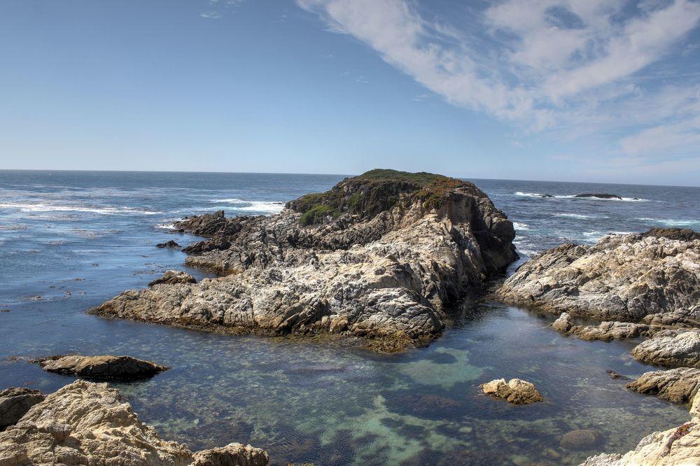 La côte sauvage de la 17-Mile Drive, CA, USA