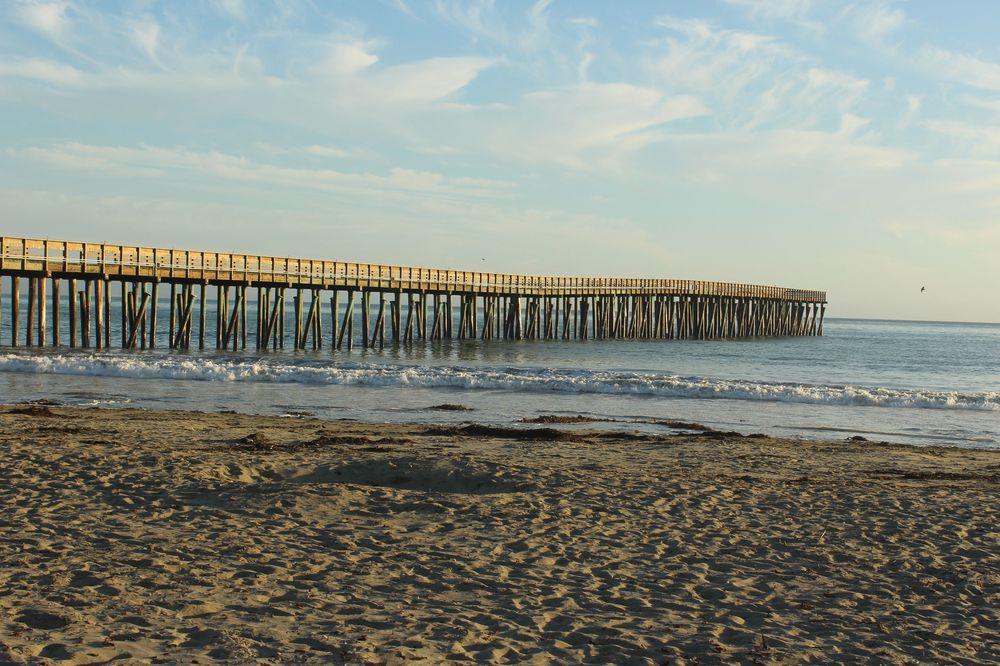 Plage de Morro Bay, CA, USA