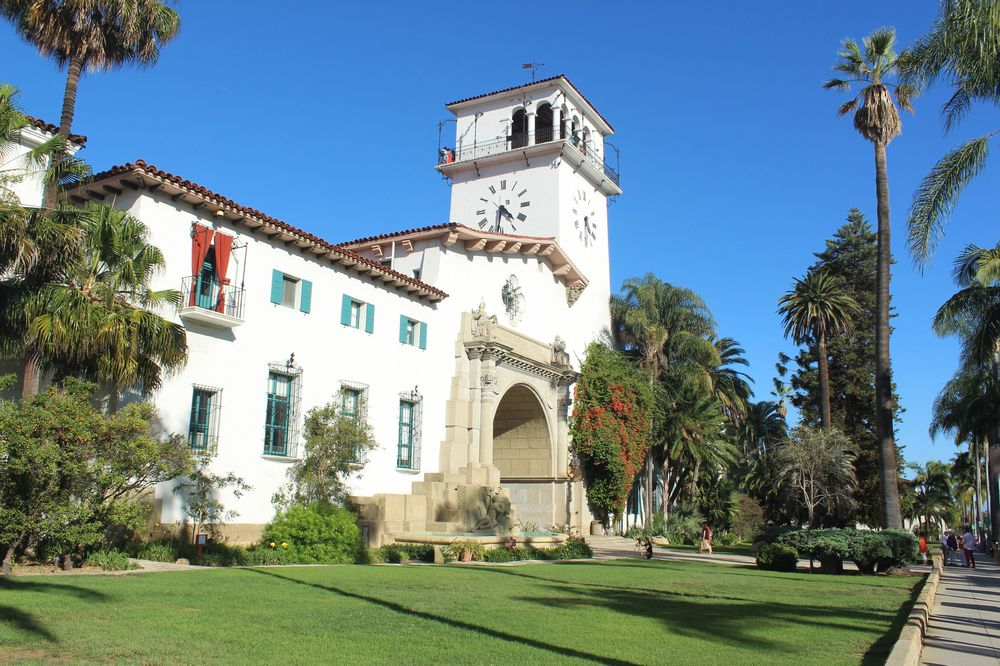 City Hall de Santa Barbara, CA, USA