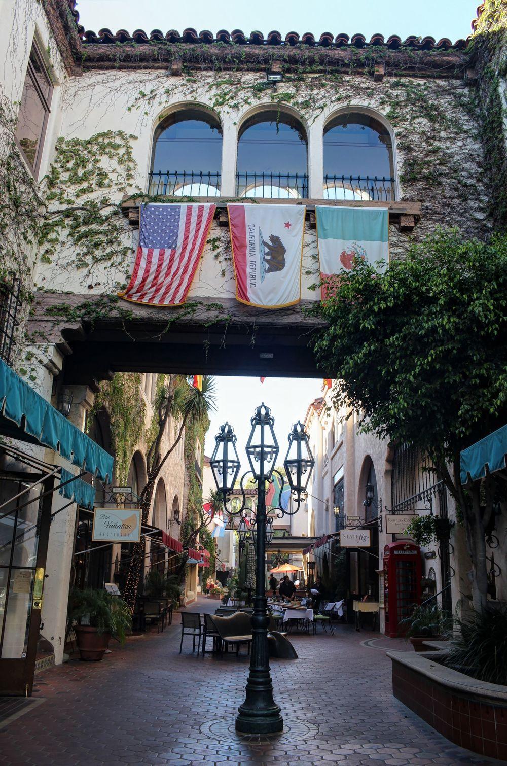 Ruelle de Santa Barbara, CA, USA