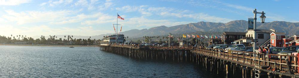 Le Stearns Wharf, Santa Barbara, CA, USA