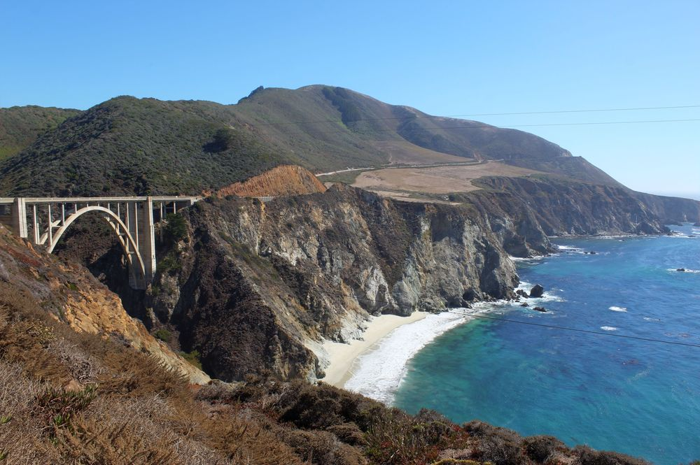 Bixby Bridge, Big Sur, Route 1, CA, USA