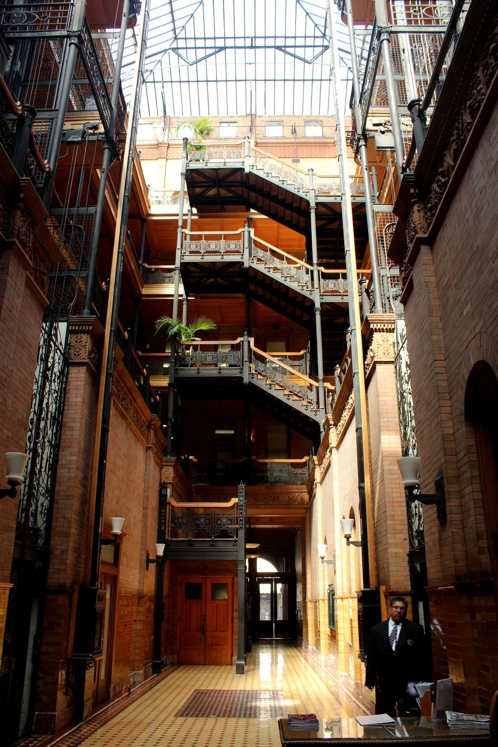 Bradbury Building, Los Angeles, CA, USA