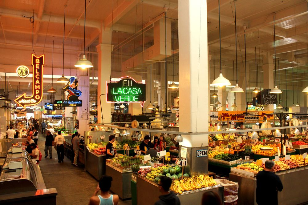 Grand Central Market, Los Angeles, CA, USA