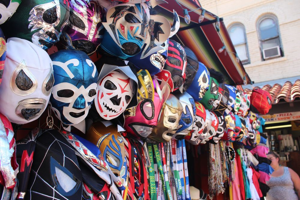 Olvera Street, Quartier historique, Los Angeles, CA, USA