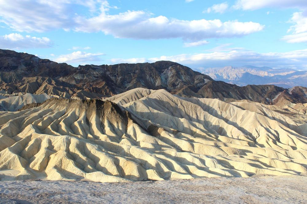 Zabriskie Point, Golden Canyon Trail, Death Valley National Park, CA, USA
