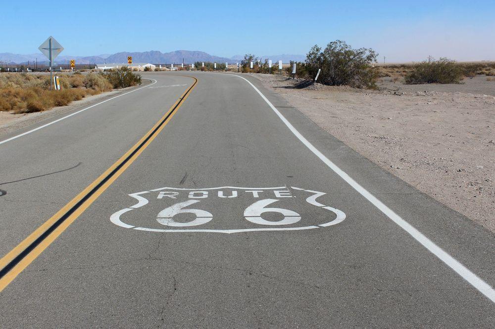 Route 66, Amboy, CA, USA