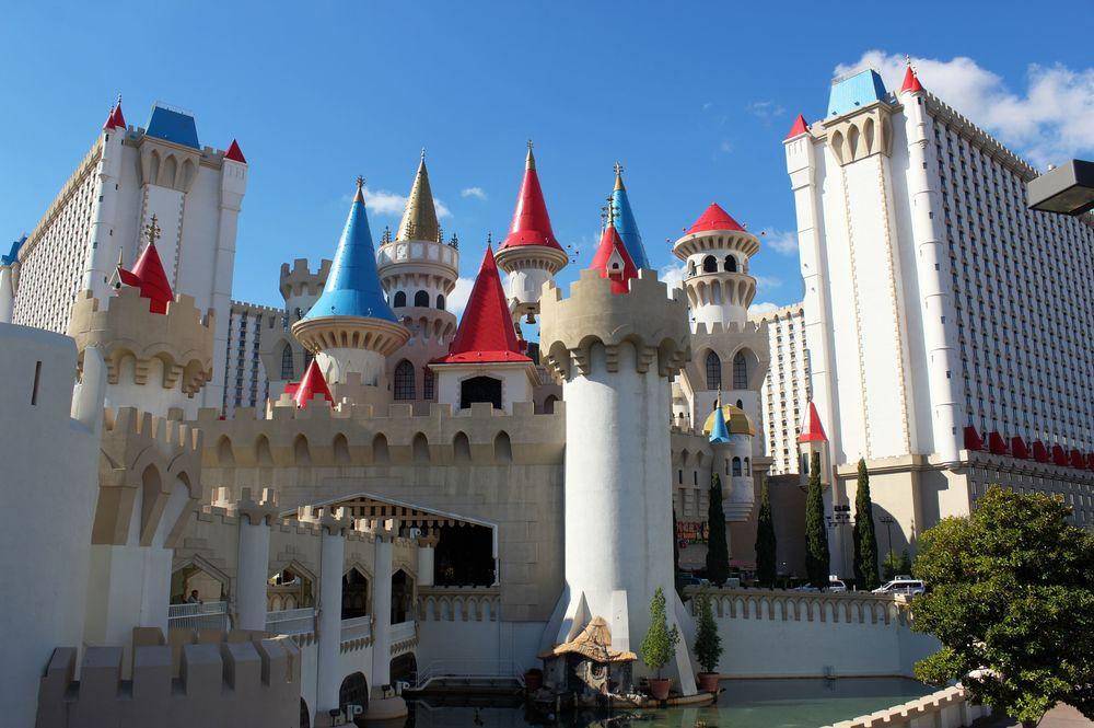 Hôtel l'Excalibur, Las Vegas, NV, USA