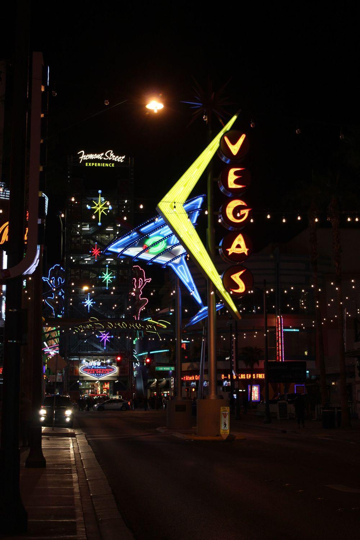 Fremont Ditrict, Las Vegas, NV, USA