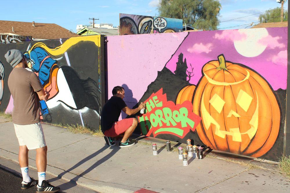 Art Ditrict, Las Vegas, NV, USA