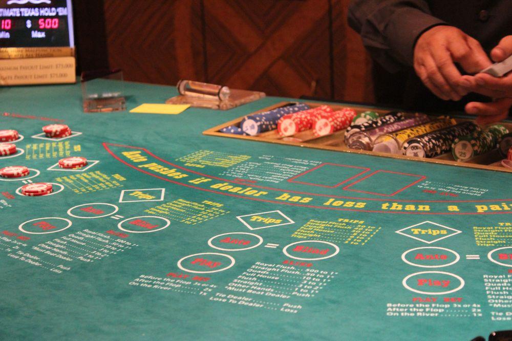 Table de Black Jack, Casino du Bellagio, Las Vegas, NV, USA
