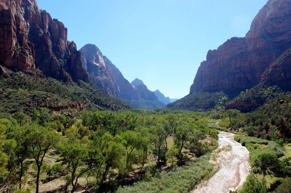 Le canyon de Zion National Park, Utah, USA