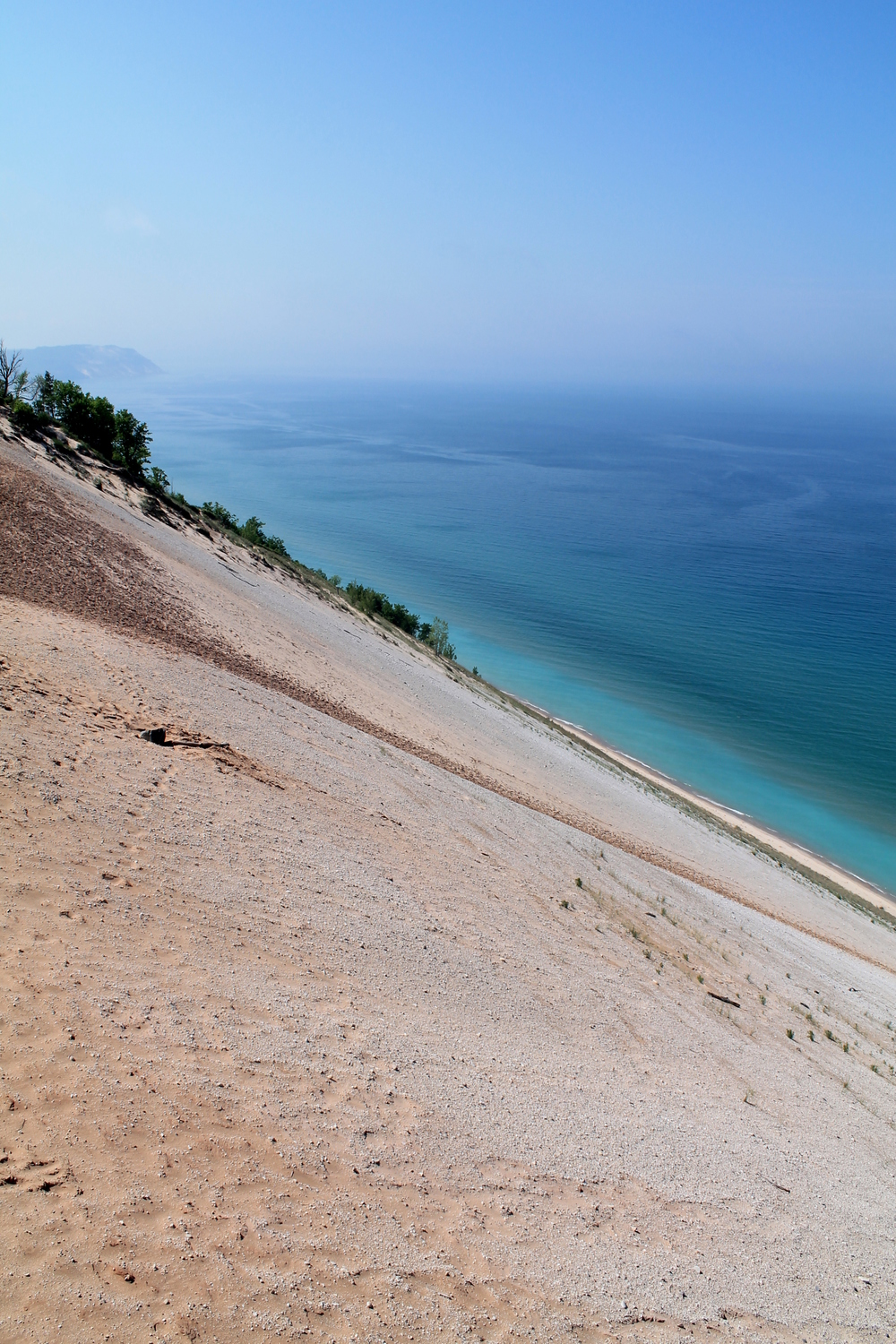 Lake Michigan Overlook, Sleeping Bear Dunes National Lakeshore, MI, USA