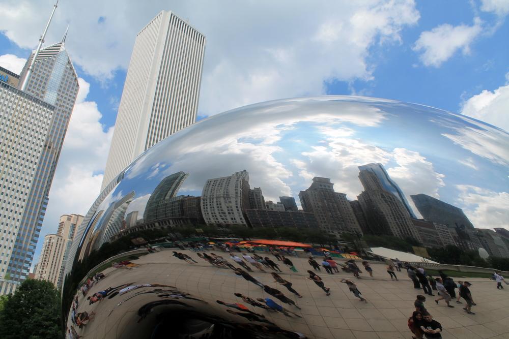 The Bean, Millenium Park, Chicago, IL, USA