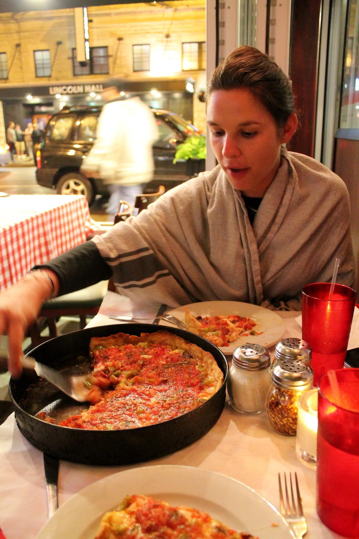 Chez Pizzano's, Chicago, IL, USA