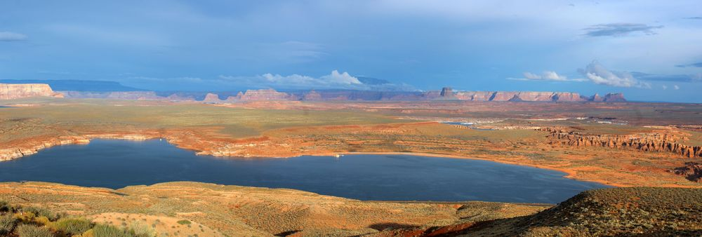 Lac Powell, Arizona, USA