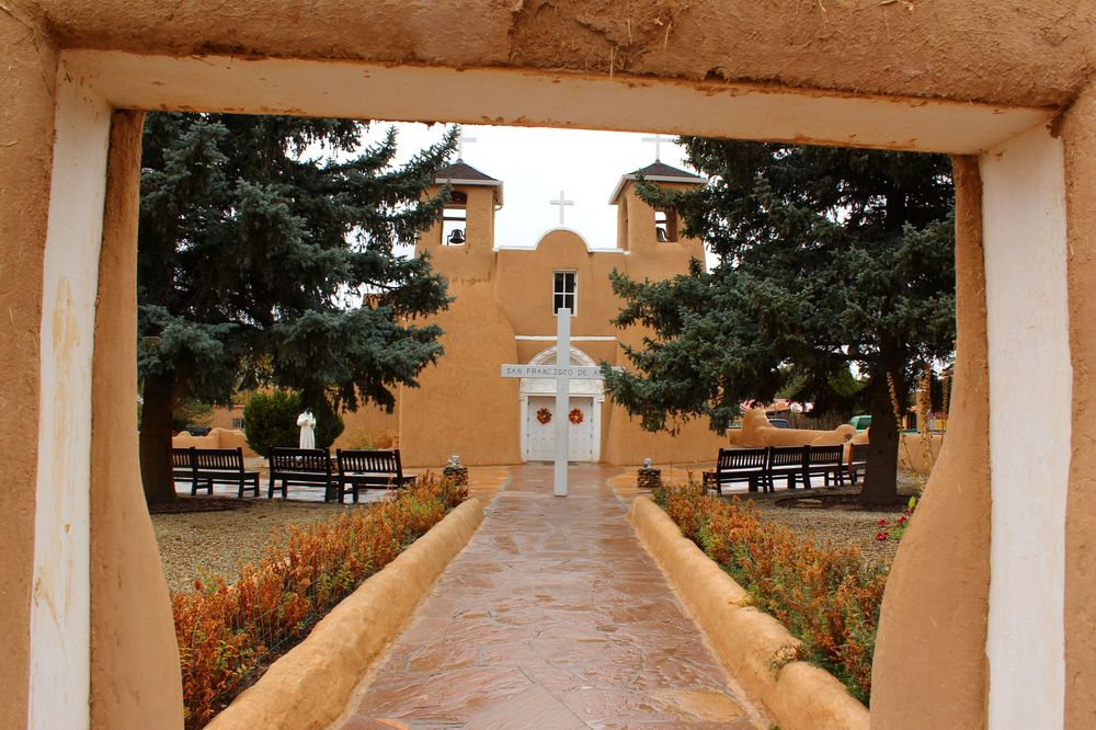 San Francisco de Assis, Taos, Nouveau-Mexique, USA