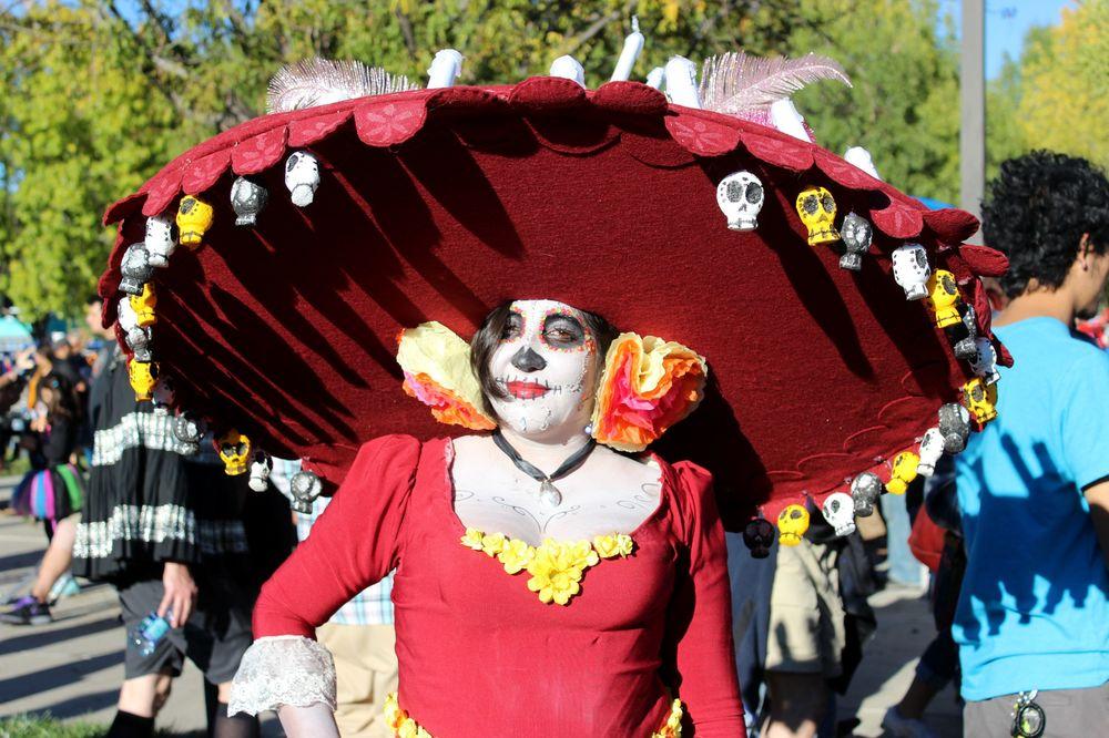 Día De Los Muertos, Albuquerque, Nouveau-Mexique, USA