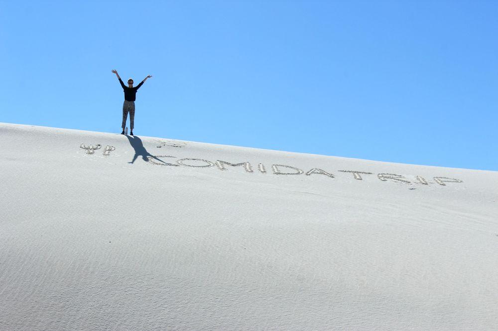 White Sands National Park, Nouveau-Mexique, USA