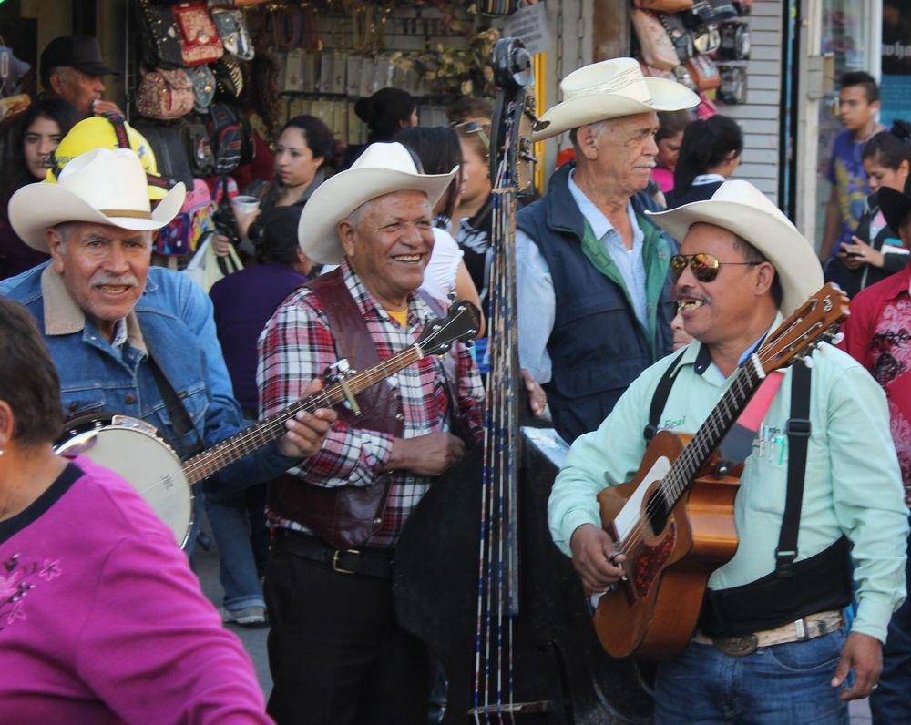 Mariachis ville de Chihuahua, Chihuahua, Mexique