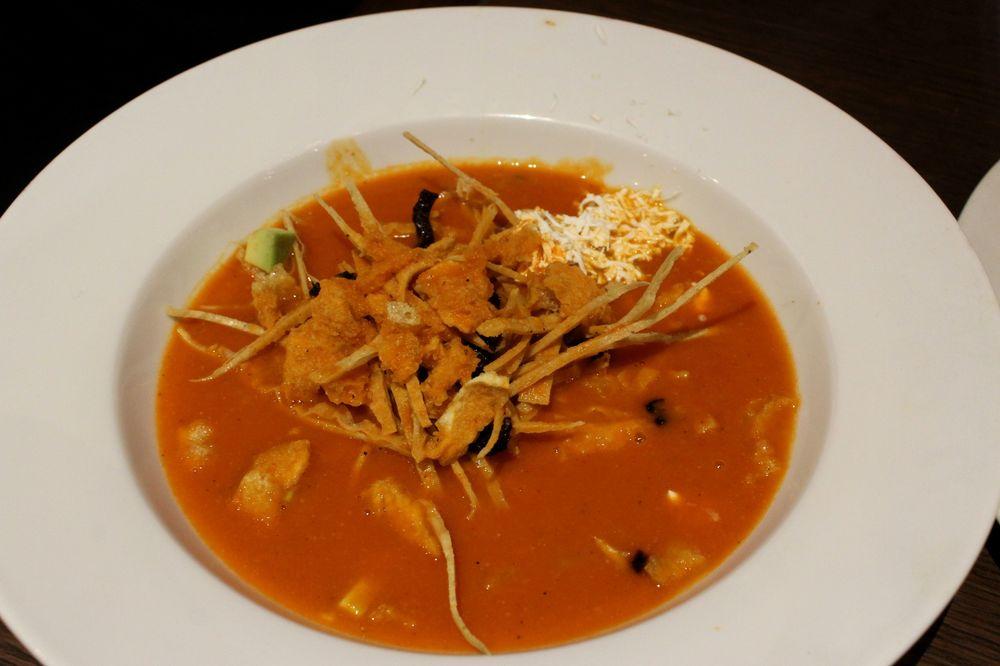 Sopa de tortillas, Restaurant la Loteria, Torreón, Coahuila, Mexique