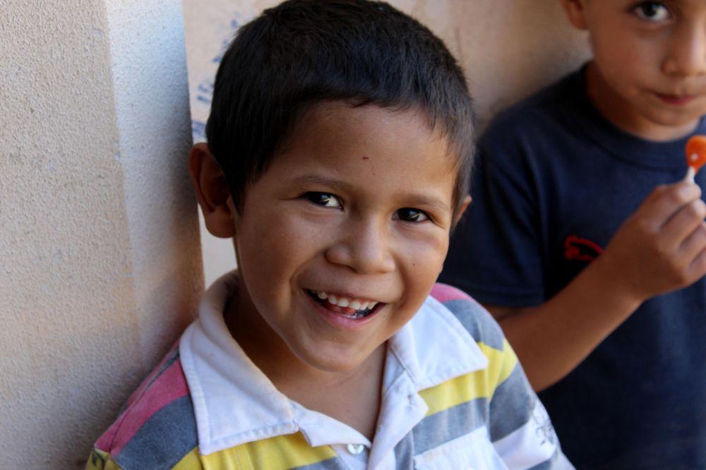 Enfants de la Catedral Perdita, Batopilas, Barranca Del Cobre, Chihuahua, Mexique