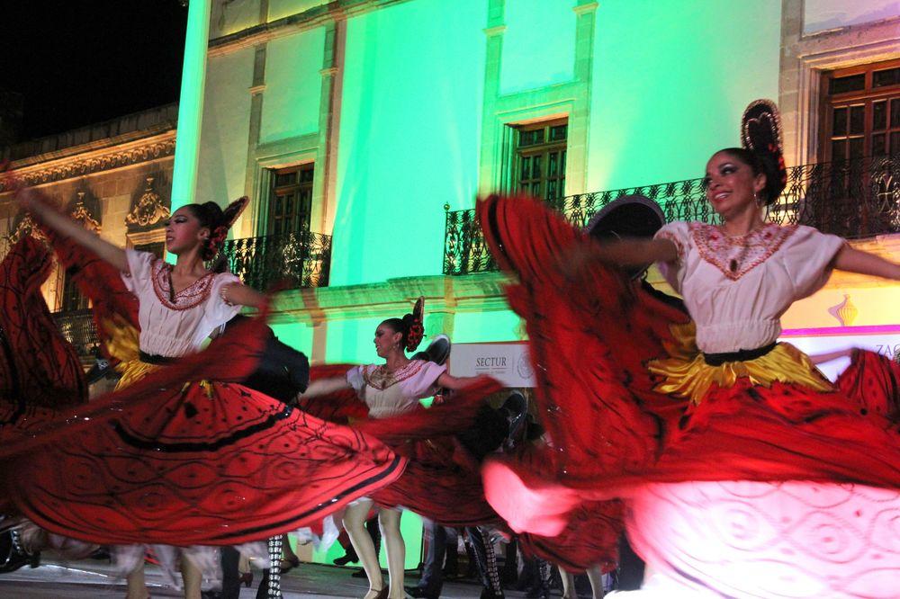 Danse folklorique, Zacatecas, Zacatecas, Mexique