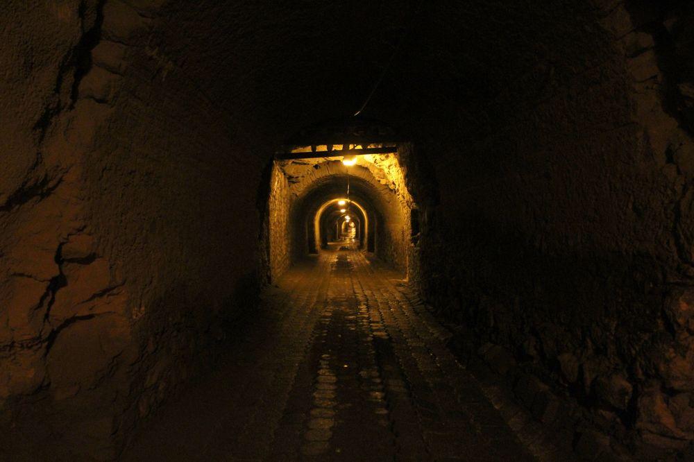 Tunnel de Real de Catorce, San Lui Potosi, Mexique