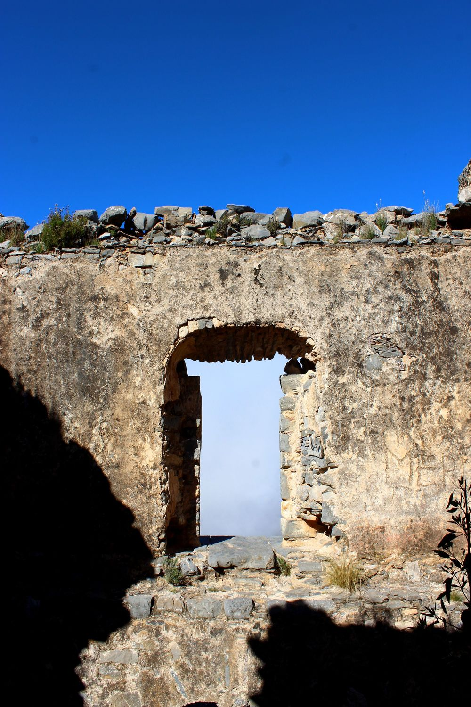 Village fantôme de R  eal de Catorce, San Lui Potosi, Mexique