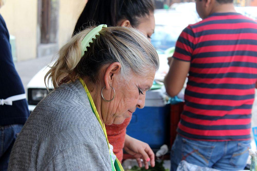 Stand de tacos, San Lui Potosi, San Lui Potosi, Mexique