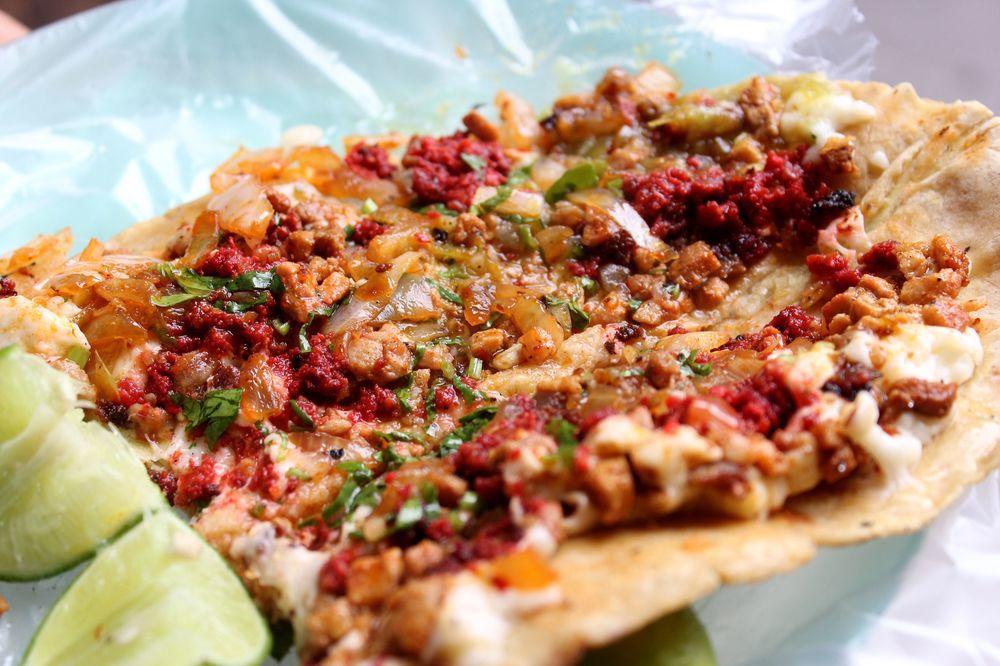 Quesadilla chorizo, San Lui Potosi, San Lui Potosi, Mexique
