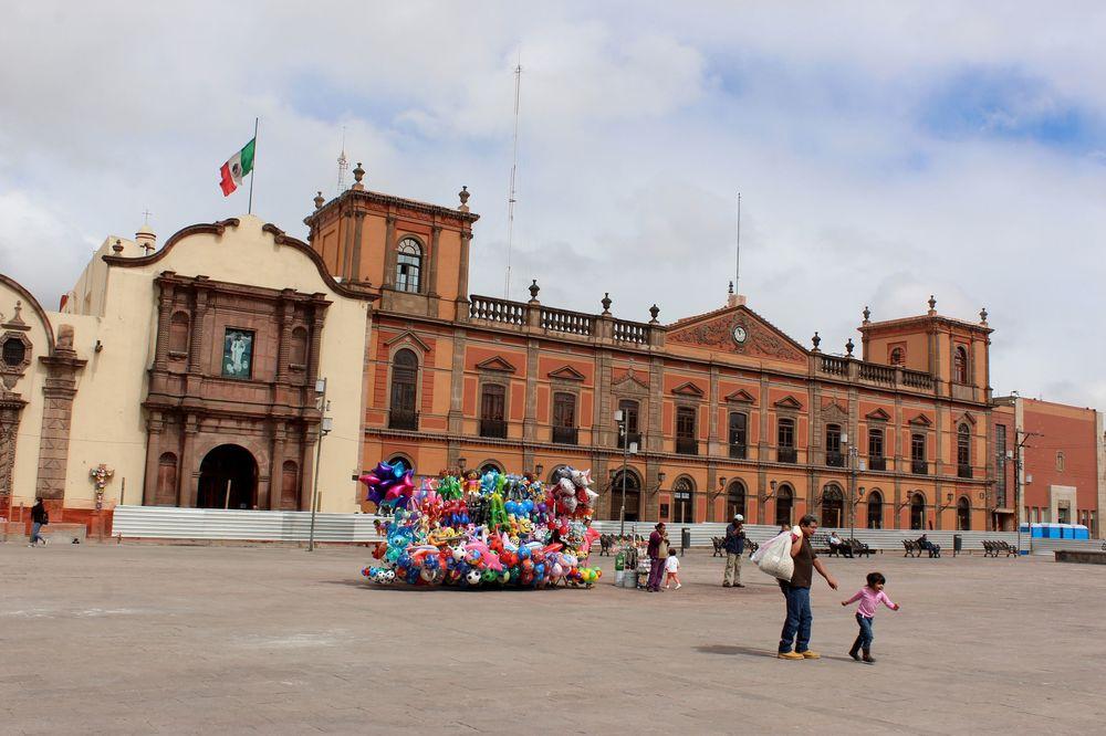 Zocalo de San Lui Potosi, San Lui Potosi, Mexique