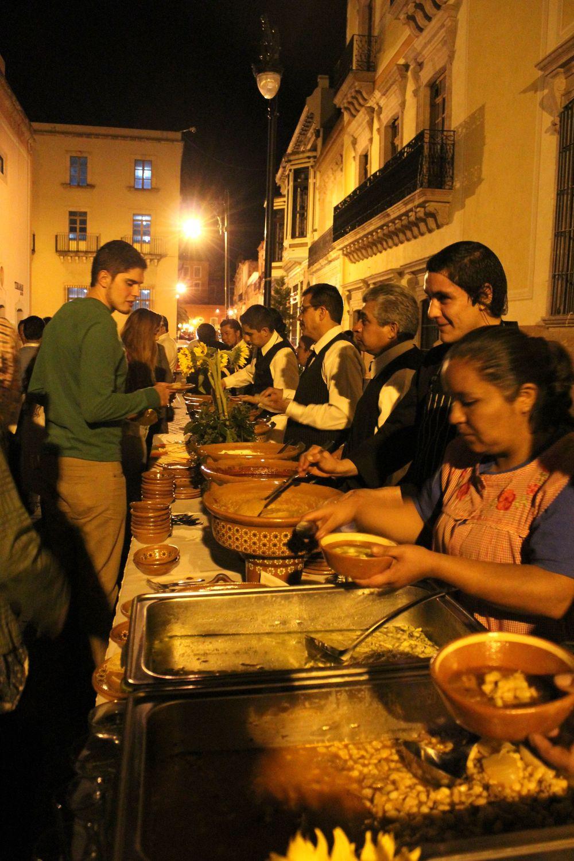 Buffet de spécialités, Zacatecas, Zacatecas, Mexique