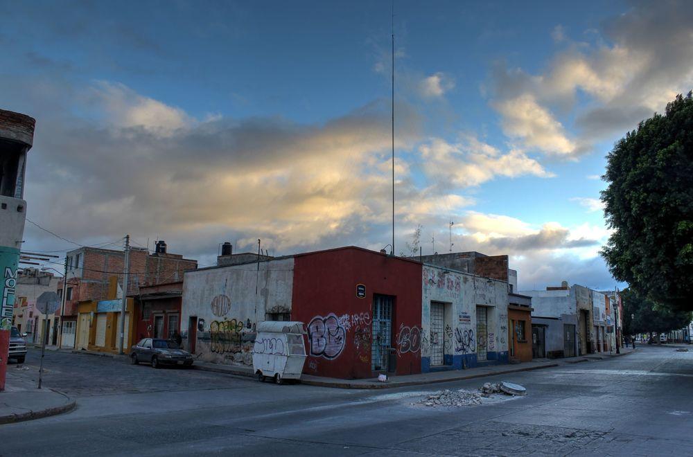 Ruelle de San Lui Potosi, San Lui Potosi, Mexique