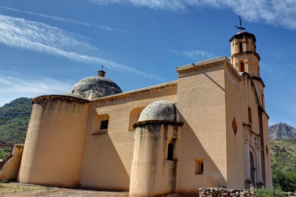 Catedral Perdita, Batopilas, Barranca Del Cobre, Chihuahua, Mexique