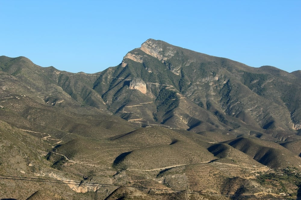 Sur la route, Queretaro, Mexique