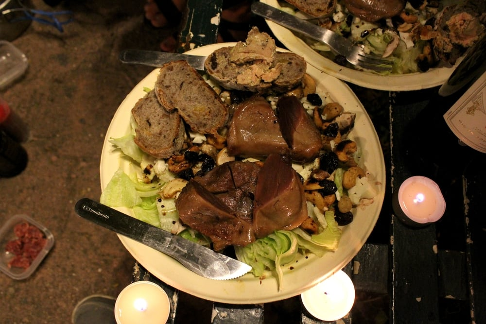 Une assiette digne d'un vingt-huitième anniversaire, Guanajuato, Guanajuato, Mexique