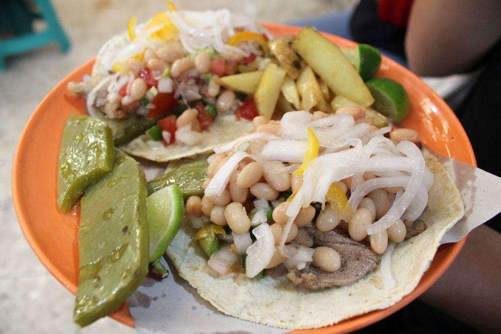 Tacos, Mercado de la merced, Mexico City, D.F, Mexique