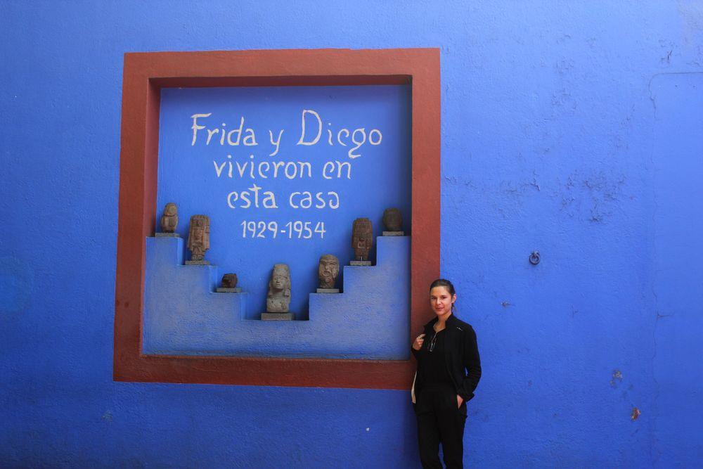 La Casa Azul, Musée de Frida Kahlo, Mexico City, D.F, Mexique